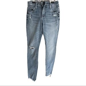 *⬇️Avery silver jeans